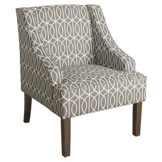 HomePop Finely Swoop Arm Accent Chair