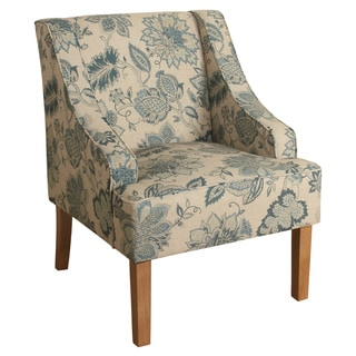 Homepop Suri Swoop Arm Accent Chair Free Shipping Today