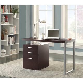 Coaster Company Wood Filing Cabinet Writing Desk
