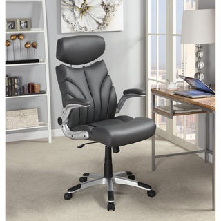 Coaster Company Grey Leatherette Office Chair