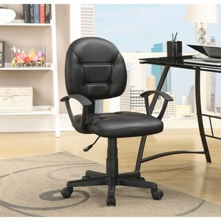 Coaster Company Black Leatherette Office Chair