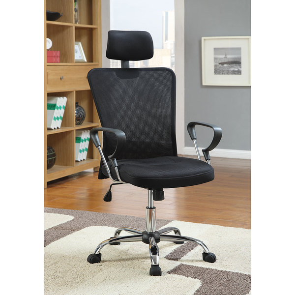 Office Chair Companies: Shop Coaster Company Mesh/Chrome Office Chair