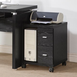 Laurel Creek Miles 2-drawer File Cabinet Computer Stand