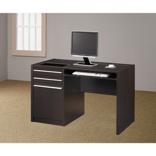 Coaster Company Cappucino Computer Desk