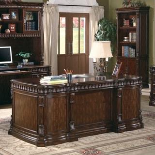 Coaster Company Walnut Writing Desk