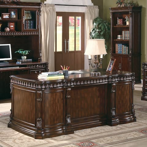 Coaster Company Walnut Writing Desk