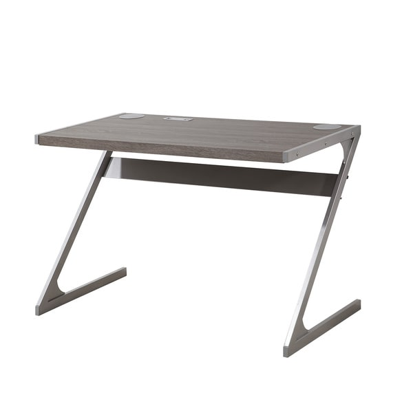 Coaster Company Home Furnishings Bluetooth Desk (Weathered Grey