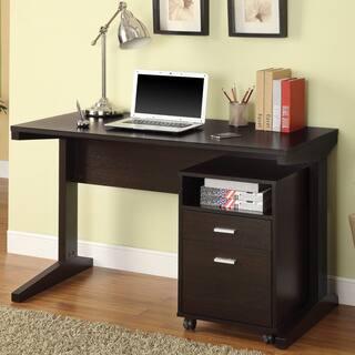 Coaster Company Cuccino Filing Cabinet Desk Set