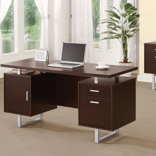 Coaster Company Cappuccino Writing Desk