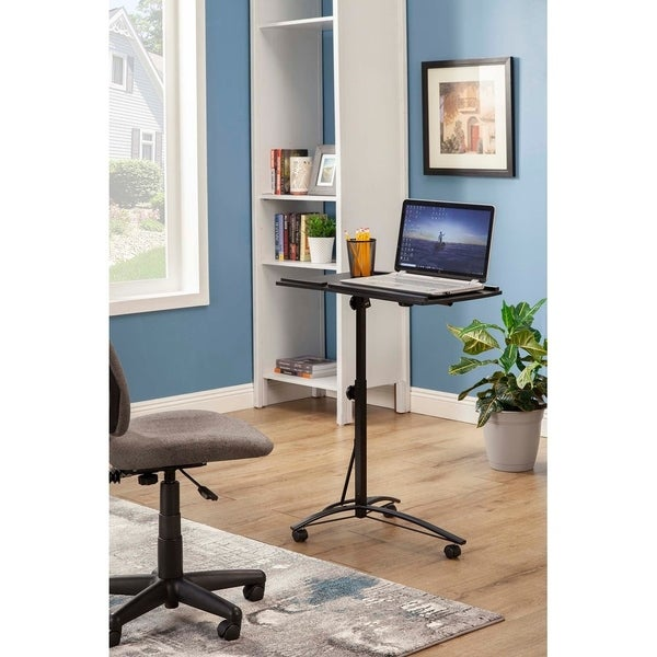 Coaster Company Black Metal Laptop Stand