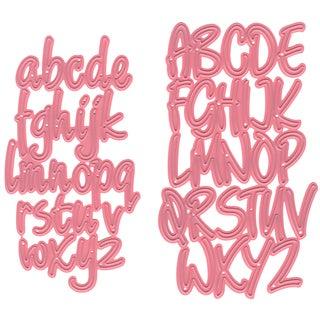 """Marianne Design Collectables Dies Alphabet, 2.44""""X4.25"""""""