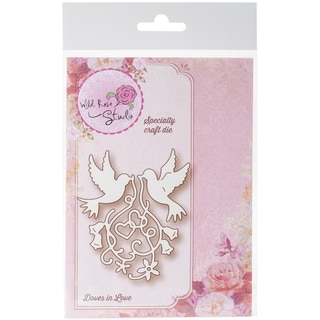 Wild Rose Studio Specialty Die Doves In Love
