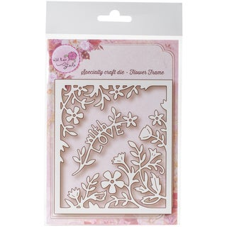 Wild Rose Studio Specialty Die Flower Frame