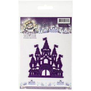 Find It Trading Yvonne Creations Magical Winter Die Castle