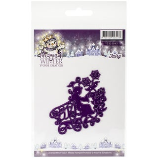 Find It Trading Yvonne Creations Magical Winter Die Fairy