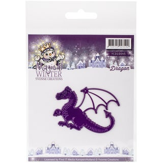 Find It Trading Yvonne Creations Magical Winter Die Dragon