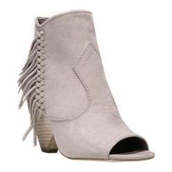 Women's Carlos by Carlos Santana Peyton Peep-Toe Ankle Boot Doe Microfiber