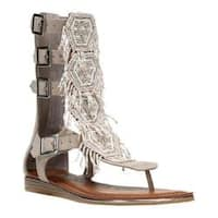Women's Carlos by Carlos Santana Taos Beaded Sandal Doe