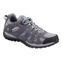 Women's Columbia Redmond Low Hiking Shoe Boulder/Sky Blue