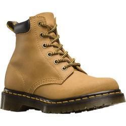 Women's Dr. Martens 939 6-Eye Hiker Boot Tan Greasy Suede