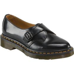 Women's Dr. Martens Agnes Pointed Monk Shoe Black Polished Smooth