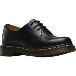 Women's Dr. Martens Back to Basics 1461 3 Eye Gibson Black Smooth