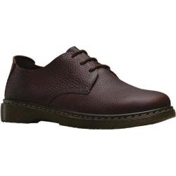 Men's Dr. Martens Bexley 3-Eye Shoe Dark Brown Grizzly