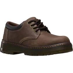 Men's Dr. Martens Bolt 4 Eye Non Steel Industrial Shoe Dark Brown Wyoming