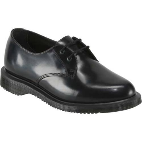 8cb0a0947e Shop Women s Dr. Martens Brook 2 Eye Shoe Black Polished Smooth - Free  Shipping Today - Overstock - 11941832