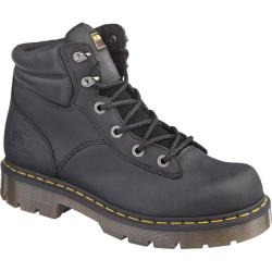 Dr. Martens Burnham NS 6 Tie Boot Black Industrial Greasy