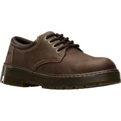 Men's Dr. Martens Bolt 4 Eye Steel Toe Industrial Shoe Dark Brown Wyoming