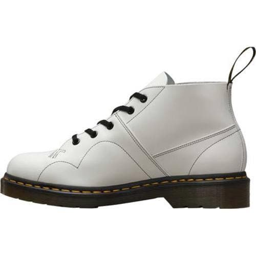 Cibo salutare Tectonic risciacquo  Shop Dr. Martens Church Monkey Boot White Smooth - Overstock - 11941849