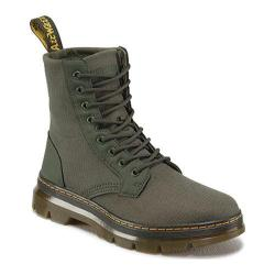 Dr. Martens Combs 8-Eye Boot Olive Extra Tough Nylon/Rubbery