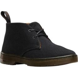 Women's Dr. Martens Daytona Chukka Boot Black Overdyed Twill Canvas