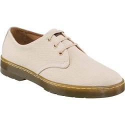 Men's Dr. Martens Delray 3 Eye Shoe Sand Overdyed Twill Canvas