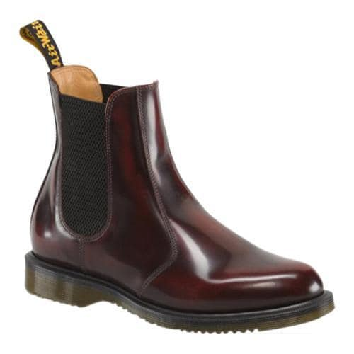 Women's Dr. Martens Flora Chelsea Boot Cherry Red Arcadia