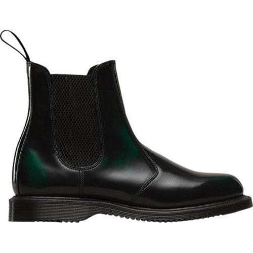 Dr Martens Flora Green Arcadia Chelsea Boots