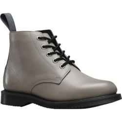 Women's Dr. Martens Emmeline 5 Eye Boot Grey Burnished Servo Lux