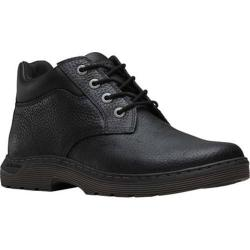 Men's Dr. Martens Esteem 4 Eye Chukka Industrial Boot Black Pitstop Leather