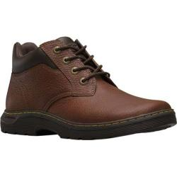 Men's Dr. Martens Esteem 4 Eye Chukka Industrial Boot Teak Pitstop Leather