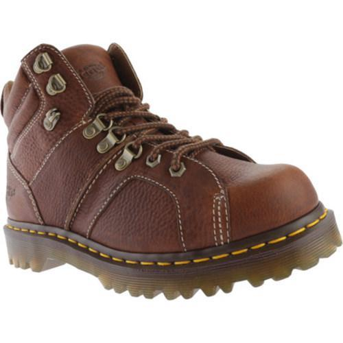 Men's Dr. Martens Fynn 8-Tie Boot Tan Grizzly