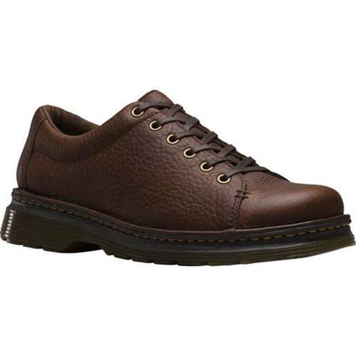 Men's Dr. Martens Healy 6 Eye Shoe Dark Brown Grizzly