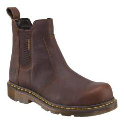 Dr. Martens Fusion Steel Toe Chelsea Boot Bark Industrial Bear Leather