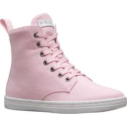 Women's Dr. Martens Hackney 7 Eye Boot Bubblegum Canvas