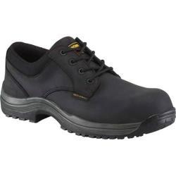 Men's Dr. Martens Hawk SD Composite Toe 4 Eye Industrial Shoe Black Industrial Greasy Leather
