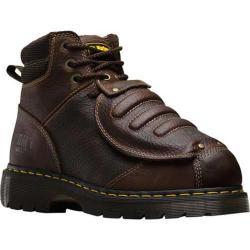 Men's Dr. Martens Ironbridge MG Steel Toe 8 Eye Industrial Boot Teak Industrial Trailblazer Leather