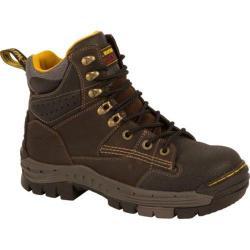 Men's Dr. Martens Isambard Safety Toe Waterproof Gaucho/Dark Brown Volcano