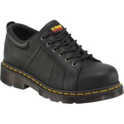 Women's Dr. Martens Mila Eye Padded Steel Toe Shoe Black Industrial Full Grain Leather