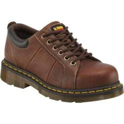 Women's Dr. Martens Mila Eye Padded Steel Toe Shoe Teak Industrial Bear Leather