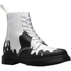 Dr. Martens Paint Splat Pascal 8-Eye Boot White/Black Paint Splat Softy T